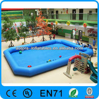 inflatable PVC water pool,baby swimming pool,inflatable games