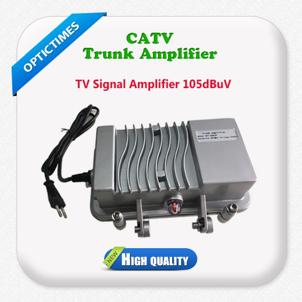 Outdoor CATV trunk line power signal amplifier price