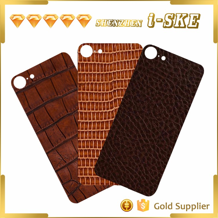 Customize cutting finished for iphone 7 genuine leather