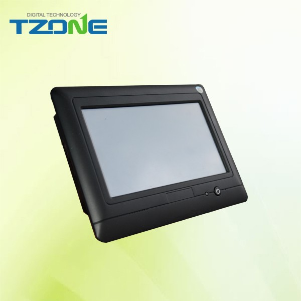 Temperature and humidity monitor touch screen with rs 232 and rs 485 communication