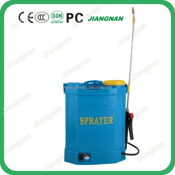16L electric backpack garden sprayer View agriculture battery