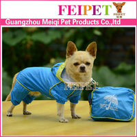 Summer dog rain gear, rain coats for dogs