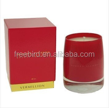 Boxed Gift High Quality Colorful Jar Safety Candle