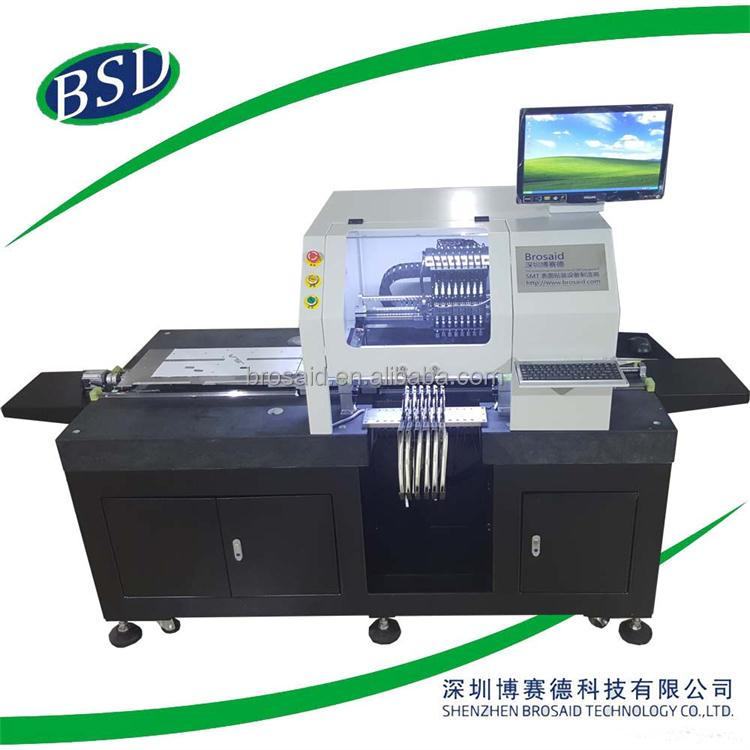 smt machine 8 heads led pick and place machine,led light making machine,led bulb manufacturing machine BSD-810S