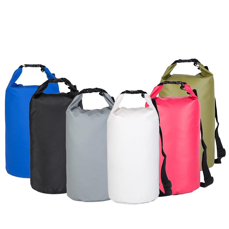 2017 Portable Waterproof floating dry bag with shoulder straps, outdoor dry bag, dry bag pack