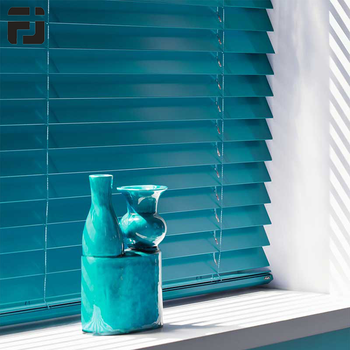High Quality Customized Horizontal Fire-proof Aluminum Venetian Blinds For Window