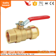 "LB-GutenTop 1/4"" brass isolation ball valve manufacturer 1/4"" china brass ball valve 1/4"" washing machine inlet valve"