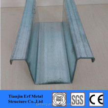 Metal Hat Channel and Omega Steel Profile for Roof Trusses Warehouse