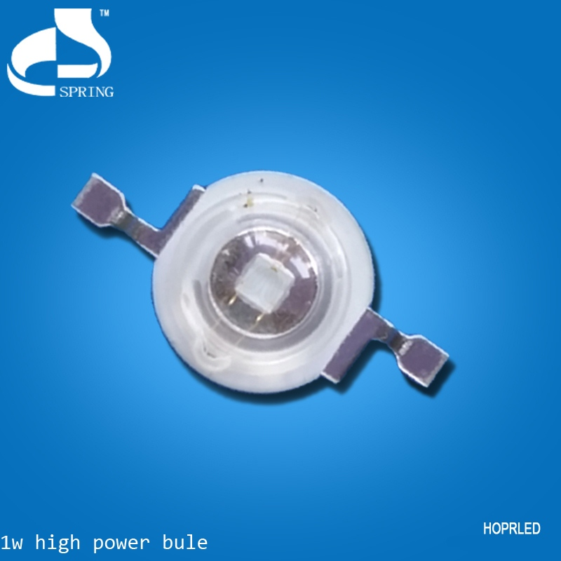 Energy saving high power 1w led emetting blue