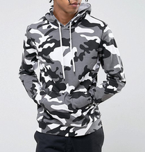Latest Design Custom All Over Sublimation Printing Hoodies With Drop Shoulder In Camo