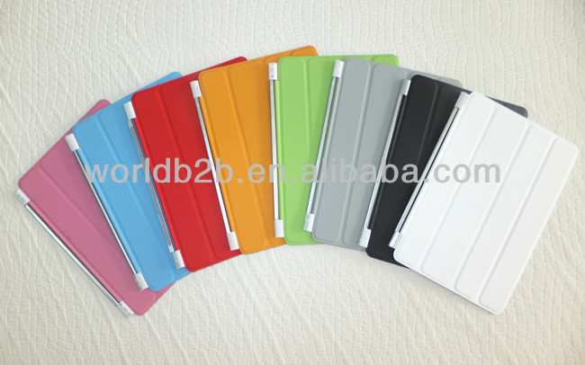 Leather Magnetic Smart Cover Skin For iPad Mini 2