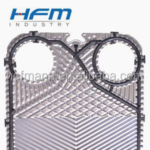Equal with Alfa Laval M6M,M10M,M15M,M20M Stainless Steel Frame gasket plate type heat exchanger