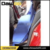 pet protective accessories blue color flag car seat cover for rear seat