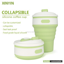 Outdoor Foldable Coffee Cup / Silicone Drinking Cup / Collapsible Travel Mugs