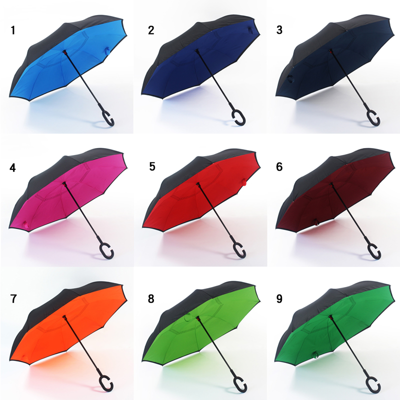 malaysia free magic inverted umbrella with lights