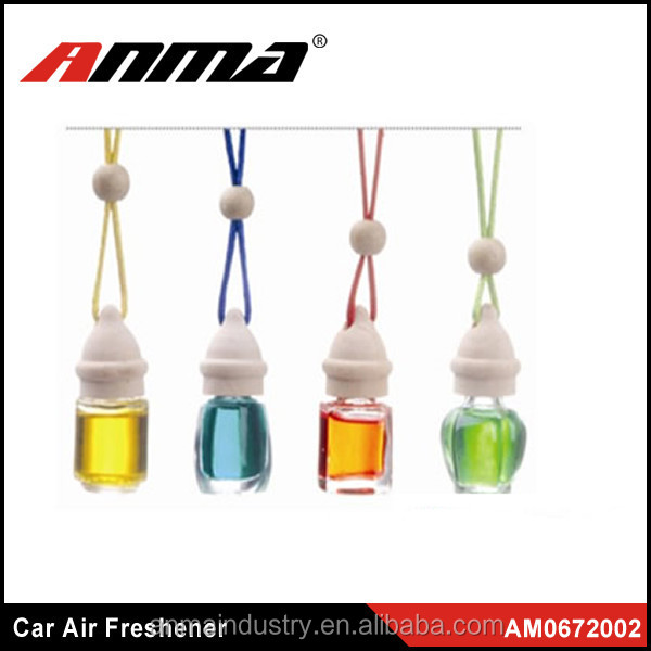Car Hanging Perfume Oil Bottle Freshener / Car Air Freshener