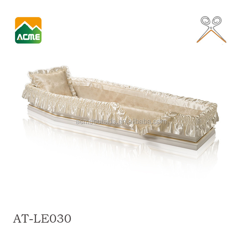 AT-LE030 hot sale casket interior lining factory