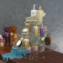Wholesale high quality clear acrylic perfume bottle display stand