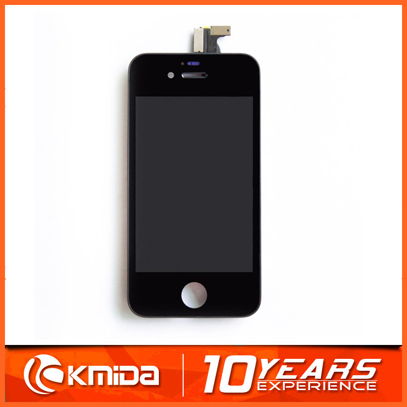 Replacement For iPhone 4S LCD Screen Digitizer Assembly White And Black Color