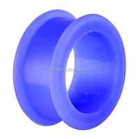 Buy Blue Silicone Ear Plug piercing jewelry in China on Alibaba.com