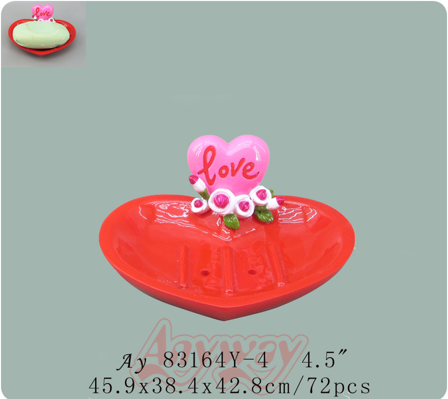 Best Love Rose and cute bear clock gift for valentine day