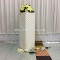 square roman wedding flower pillar wedding decoration