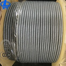 Hoist wire rope 8X19s elevator steel wire rope galvanized wire rope