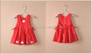 Red baby princess dress