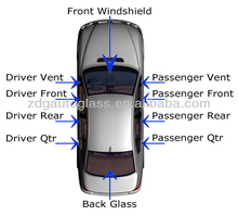 parabrisas front laminated windshield