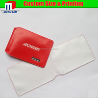 Custom print cheap plastic cover for cards ,pvc wallet for oyster cards