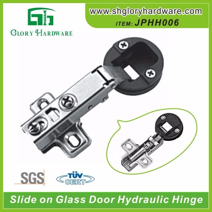 105 Degree Slide-on Concealed glass small spring hinge