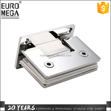Removable Stainless Steel 304 180 degree glass door hinge adjust Shower Door Pivot Hinges Glass Hinge