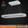hot selling circle led crystal pendant light ring led ceiling lamp