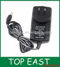220v ac/dc power adapter 12v 1a USA plug travel adapter cheaper price