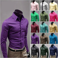 17Colors Dress Shirt For Men With Long Sleeve