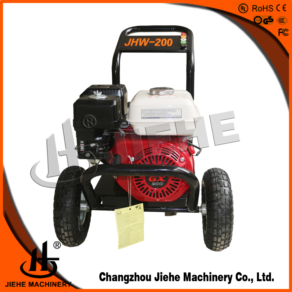 Honda engine petrol power jet pressure washer(JHW-200)