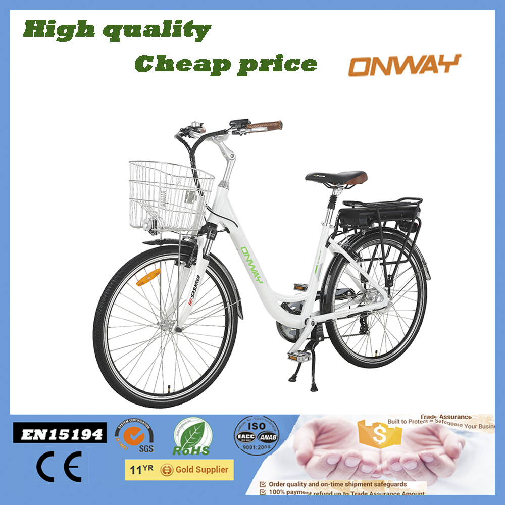 EN15194 Cheap City Electric Bike with CE Certificte Made In China