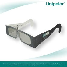 Paper refraction depth circular polarized 3d cinema glasses