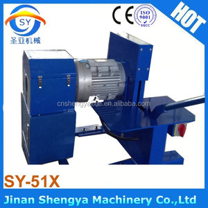 china portable machine SY-51X hydraulic hose skiving and cutting machine price
