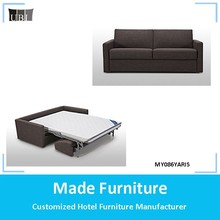 Modern living room sofa bed fabric sleeping sofa MY086