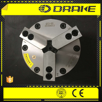 "5"" closed center 3 jaw wedge style pneumatic power lathe chuck for Cutting Wheel Lathe machine"