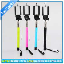 factory portable hot selling promotion selfie stick supplier