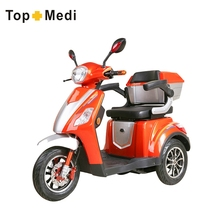 Powerful User-Friendly Design Three Wheel Handicapped Electric Scooter Motorcycle
