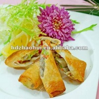 Frozen cocktail spring roll food