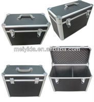 Aluminum storage case with custom inserts