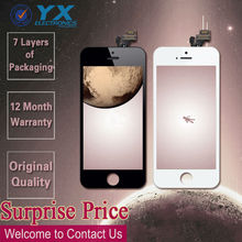 Big sale for Iphone 5 LCD, for iphone 5 glass digitizer, for iphone 5 mirror color lcd digitizer touch screen