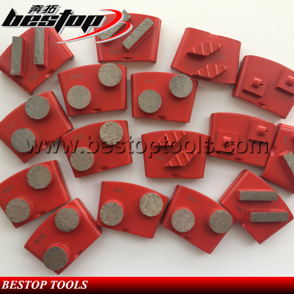 HTC Diamond Tools for Concrete Grinding and Polishing