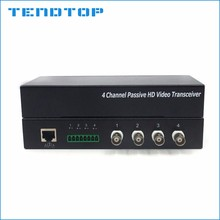 Tendtop 4 channel passive utp balum CVI cameras video balun cctv accessories