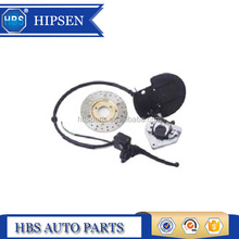 hydraulic disc brake assembly for motorcycle