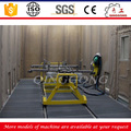 Mechanical recovery type air blast room irregularity steel structure sandblasting cabinet container